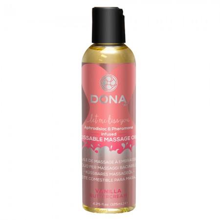 DONA Kissable Massage Oil Vanilla Buttercream 110ml