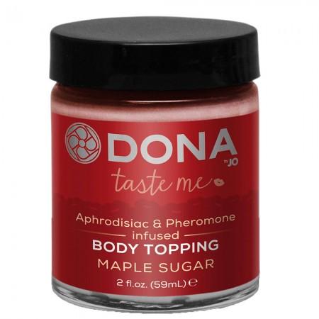 DONA Kissable Body Topping Maple Sugar 59ml