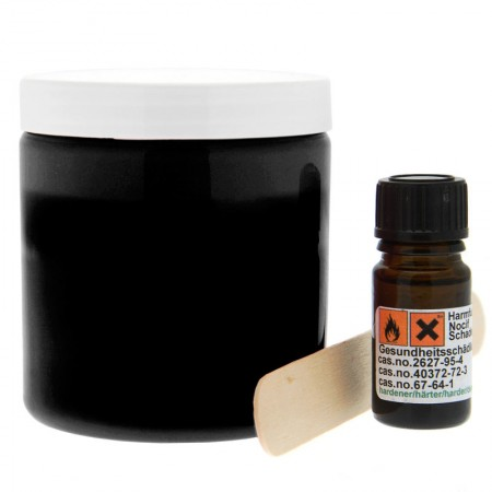 Cloneboy Extra Silicone Hardener And Spoon Black