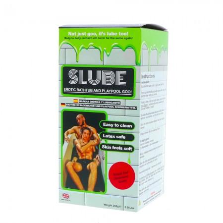 Slube Erotic Bath and Playpool Goo Strawberry