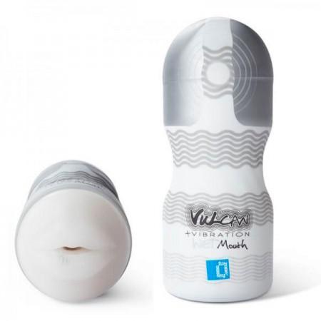 Vulcan Plus Vibration Wet Mouth Masturbator