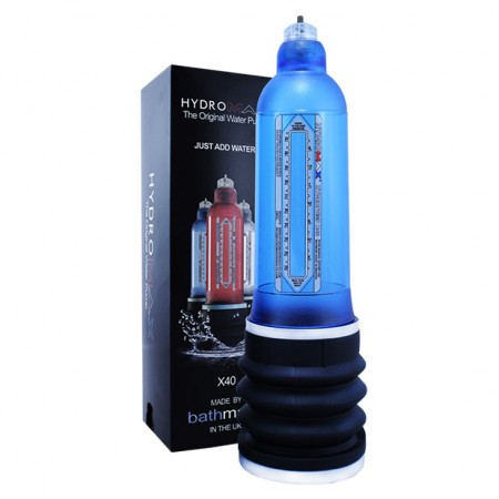 Bathmate HydroMax X40 Blue Penis Pump