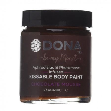 DONA Kissable Body Paint Chocolate Mousse